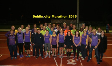 Dublin City Marathon 2015